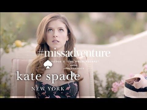 "#missadventure episode 2:"" the great escape"", starring anna kendrick"