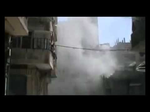 Assad Punks Kofi Annan pt2   Bombs Homs City on Truce Day 10 April 12