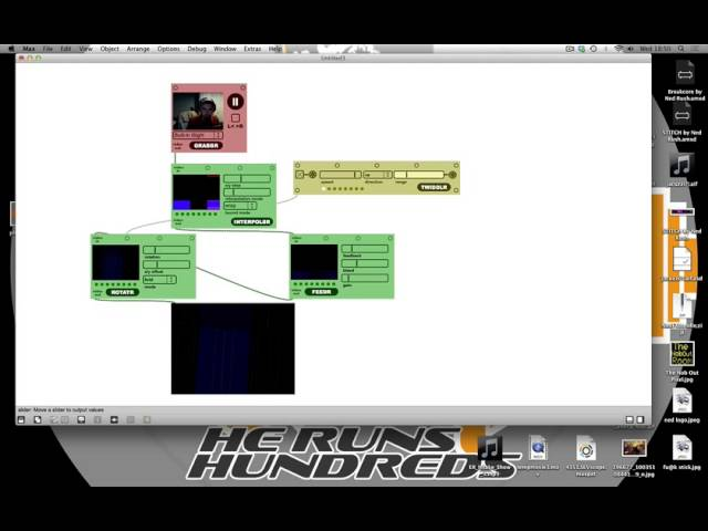 New Persons Guide to Jitter (max msp) EP 1