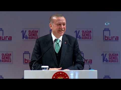 Erdoğan'ın Konuşması Sırasında Bir Bebek Ağlayınca Renkli Anlar Yaşandı
