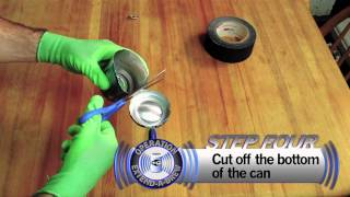 VIDEO: Extend Your Wifi With A Beer Can