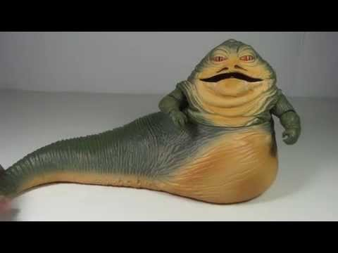 Star Wars Black Series Deluxe Jabba the Hutt Toy Review