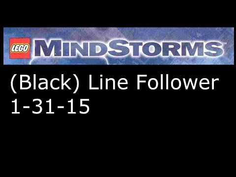 Lego Mindstorms RCX: Black Line Follower