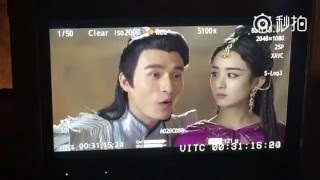 [BTS] Zhao Li Ying (赵丽颖) & Roy Wang - The Duo