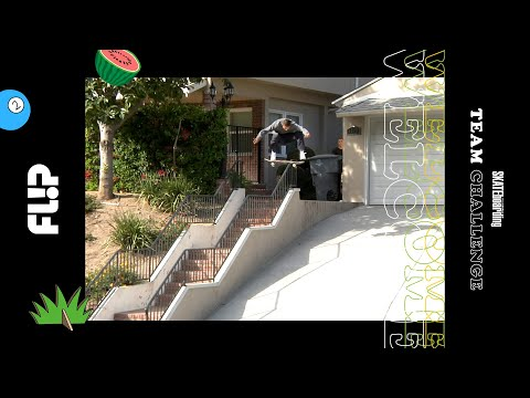 Flip for 2018 TransWorld SKATEboarding Team Challenge