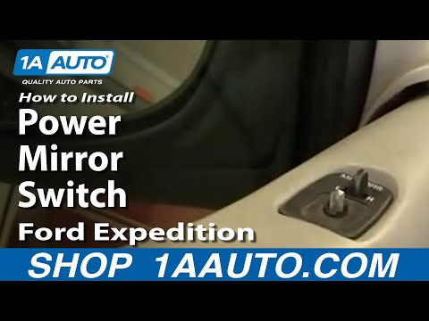 How To Install Replace Power Mirror Switch Ford F-150 Expedition 97-03 1AAuto.com