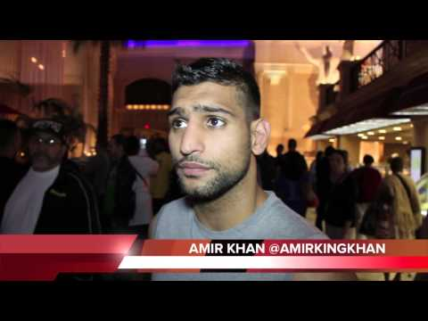 AMIR KHAN SAYS HE WANTS FLOYD MAYWEATHER OR ALEXANDER NEXT