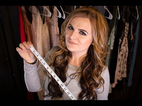 [ASMR] Measuring You Fashion Designer Roleplay {soft spoken}