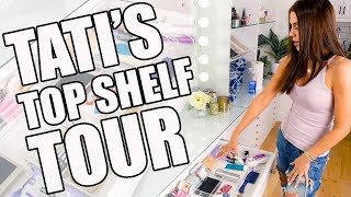 TATI'S TOP SHELF BEAUTY STUDIO TOUR
