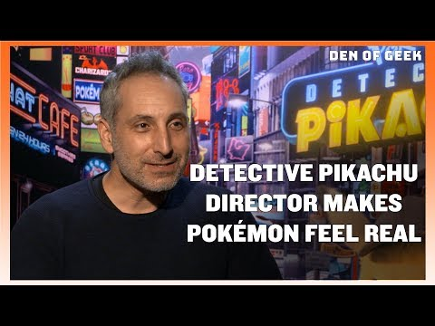 Detective Pikachu (2019) - Director Rob Letterman Interview