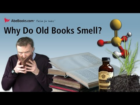 Walk into a used bookshop and you will encounter the unique aroma of aging books. The smell is loved by some, disliked by others, but where does it come from...