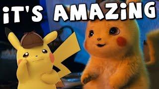 Detective Pikachu Looks Strange, But Amazing