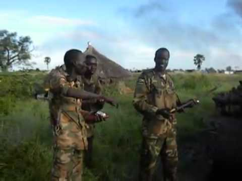 South Sudan Fighting - Doleib Hill Battle October   Jonglei state part 2