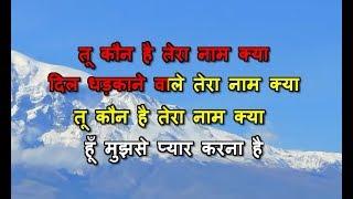 Tu Kaun Hai Tera Naam Kya - Karaoke - Khiladiyon Ka Khiladi - Kumar Sanu & Sadhana Sargam