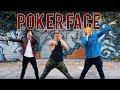 Poker Face - Lady Gaga   Caleb Marshall   Dance Workout