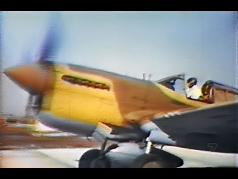 Ways of the War Hawk: How to Fly the Curtiss P-40 Fighter (Color, 1944)