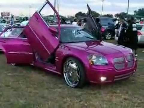 Donk Car Show -  Hip Hop Custom Cars with Super Bass - Chopped & Screwed - (part 12)