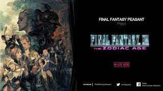 Final Fantasy XII Zodiac Age HD Remaster Playthrough | PS4 Gameplay | Live Commentary