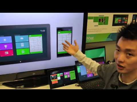 Interactive live tiles on Windows Next by Microsoft Research (1)