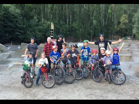 Lil Pros Tour New Zealand - The Iconic BMX Trails of Queenstown - Gorge Road Jump Park