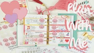 Plan With Me-Cocoa Daisy February Set up | OhSoFawn