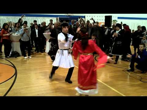 Ahiska Turks Perform Caucasus Dances in Dayton, Ohio, November 30, 2012