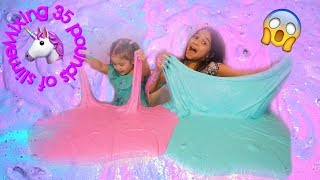 1 GALLON OF  FLUFFY SLIME VS 1 GALLON OF FLUFFY SLIME| How to make fluffy slime
