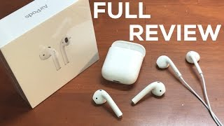 Apple AirPods FULL REVIEW   BEST HEADPHONES EVER MADE??