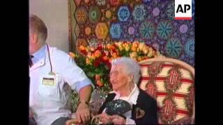FRANCE: ARLES: JEANNE CALMENT'S 120TH BIRTHDAY