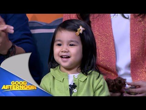 Aksi Ayasha Putri si seleb cilik Instagram