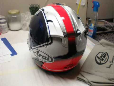 Speedesign airbrush Arai Rx7 GP Gianlucator