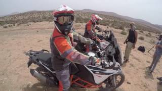 2017 new KTM 1090R Adventure & 1290R Super Adventure in Morocco! promo video