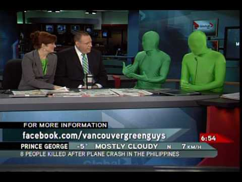 Green Guys on Global Morning News