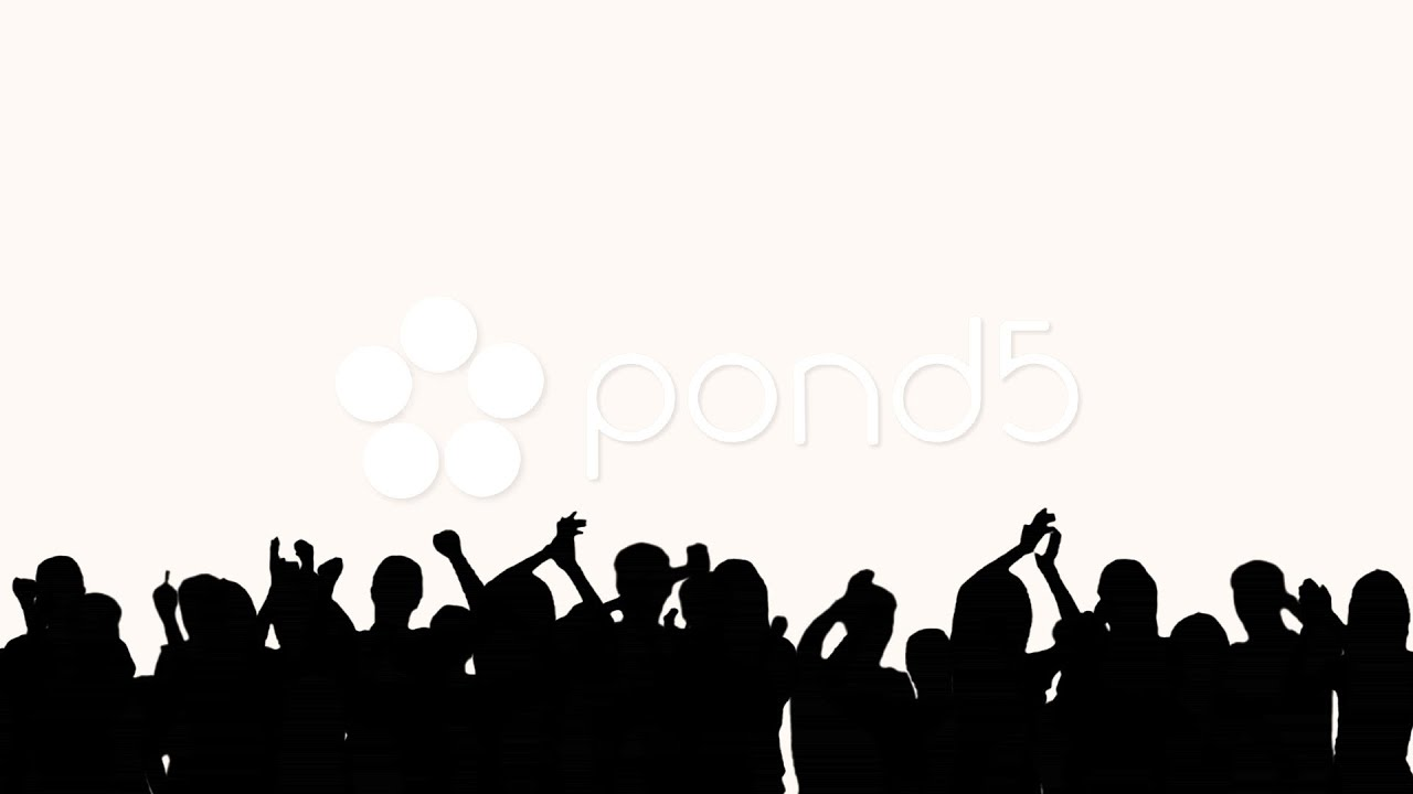 Crowd Silhouette hd Concert Crowd Silhouette