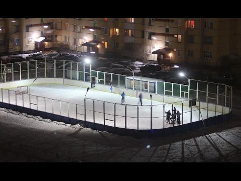 Хоккей. Дворовая классика 2017