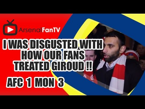 I Was Disgusted With Our How Fans Treated Giroud !! - Arsenal 1 AS Monaco 3