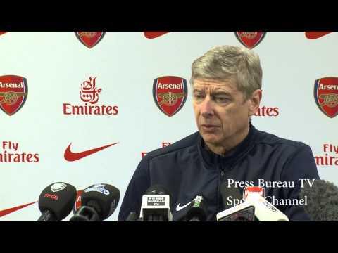 Arsene Wenger pre Arsenal vs Crystal Palace