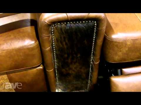 CEDIA 2013: United Leather Shows Off the Rugged Durango Chair