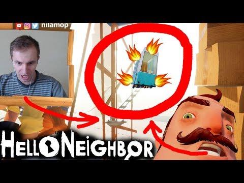 №797: НЕУГОМОННАЯ ВАГОНЕТКА СОСЕДА В ПРИВЕТ СОСЕД БЕТА 3(Hello Neighbor Beta 3)