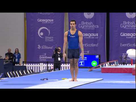 Danell Leyva (USA) Vault