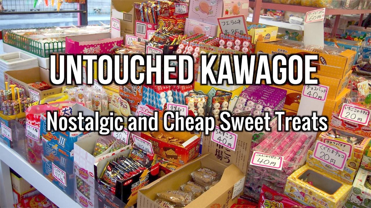 Untouched Kawagoe : Nostalgic and Cheap Sweet Treats