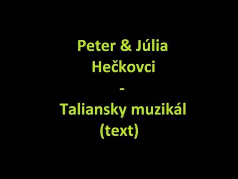 Peter A Júlia Hečkovci - The Greatest Hits