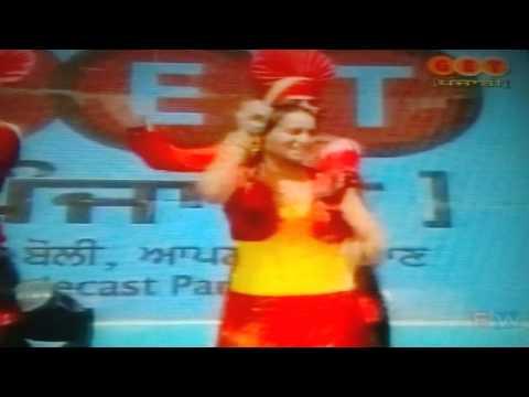 Guri Thind With Mallika Jyoti In Ipl video