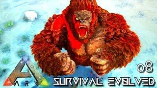 ARK: SURVIVAL EVOLVED - NEW MEGAPITHECUS DOMINUS GORILLA !!! E08 (MOD ARK ETERNAL CRYSTAL ISLES)