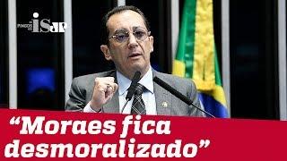 "Kajuru: ""Moraes fica desmoralizado"""