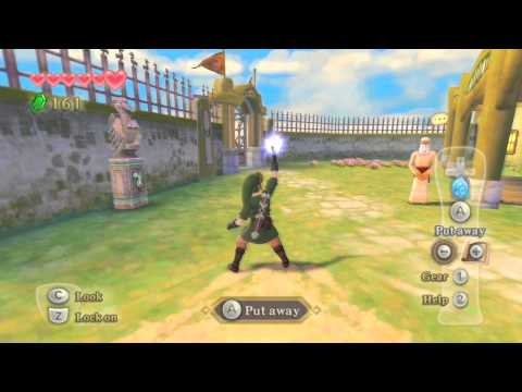 Zelda: Skyward Sword Dolphin (PS3 Controller) Test