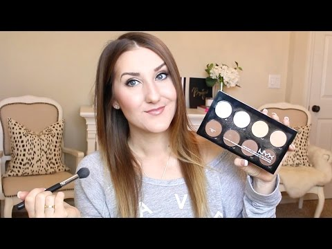 NYX Contour/Highlight Palette DEMO & REVIEW