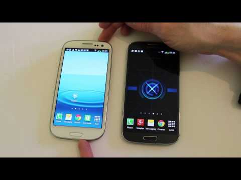 Samsung Galaxy S4 VS S3 Personal Choice Shootout