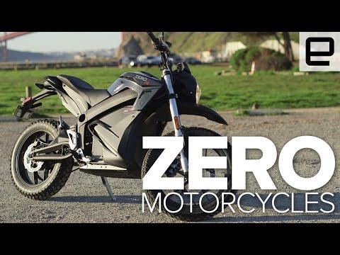 Test Riding Zero's New Electric Motorcycles