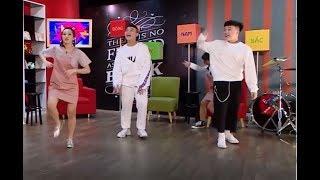 Bộ 3 Gina M - Mon Hoàng Anh - Kenji SIÊU NGẦU trong thử thách Random Dance 😆